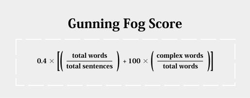 5. A Gunning-féle Fog Index kiszámításának módja
