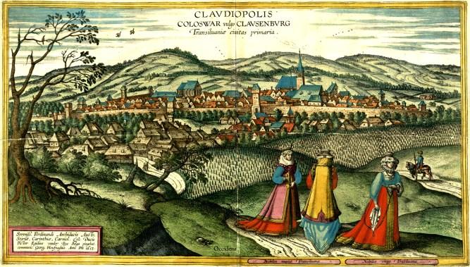 Fotó 3.Joris Hoefnagel festménye 1617-ből Claudiopolisról (wikicommons)