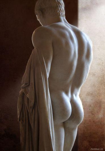 Marcellus római szobra a Louvreban