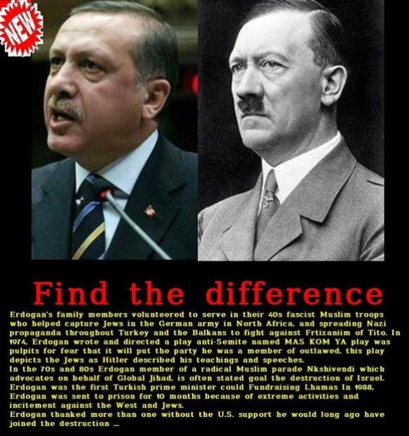 Erdogan new Hitler