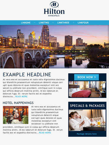 Hotel Email Responsive Campaigns