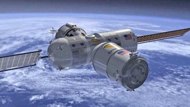 Американцы намерены запустить в космос гостиницу