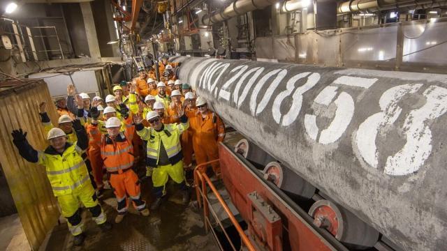 Строительство Nord Stream-2 официально завершено