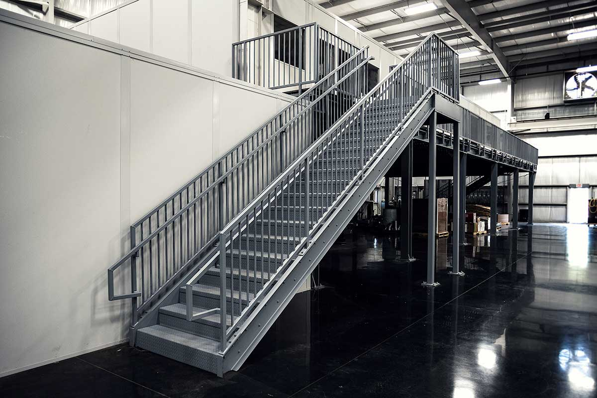 Prefabricated Metal Stairs, Aluminum Steps & Work