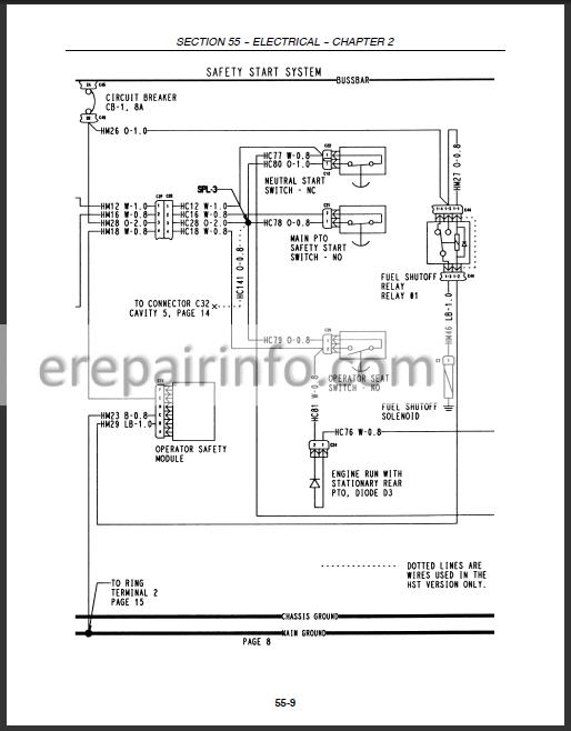 New Holland TC35A TC35DA TC40A TC40DA TC45A TC45DA Repair Manual –  eRepairInfo.comeRepairInfo.com