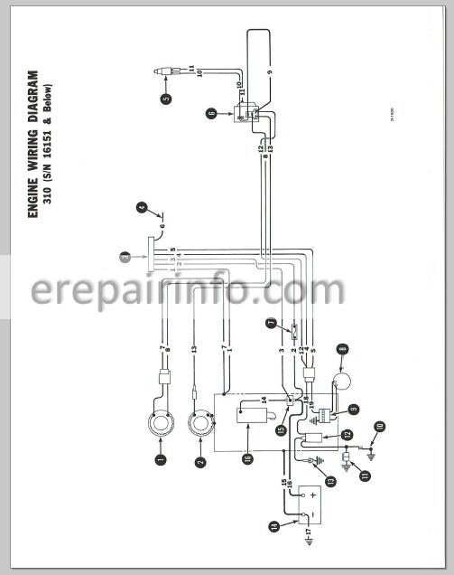 Bobcat 743b Wiring Diagram. Engine. Wiring Diagram Images