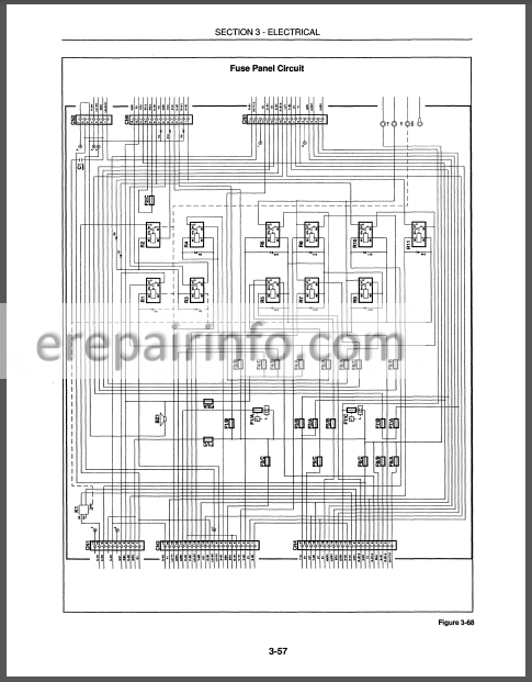 New Holland 555e 575e 655e 675e Repair Manual