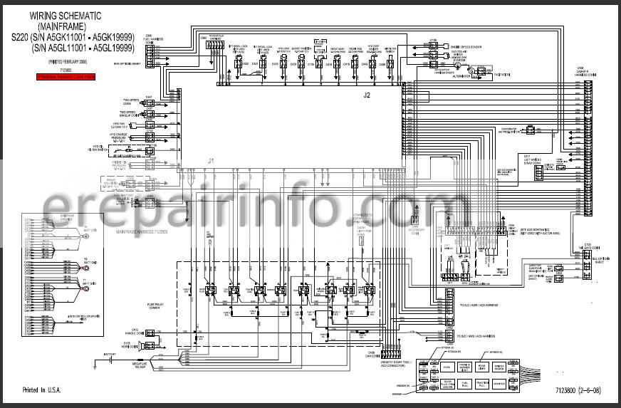 Bobcat S220 Service Manual Skid Steer Loader 6986679 3-09