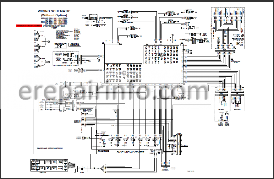 Bobcat S250 S300 Service Manual Skid Steer Loader 6902711 3-06 –  eRepairInfo.comeRepairInfo.com