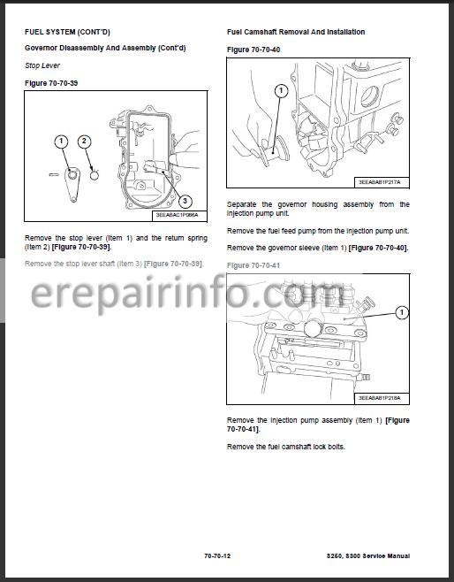 Bobcat S250 S300 Service Repair Manual Skid Steer Loader