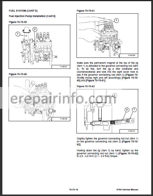 Bobcat S750 Service Repair Manual Skid Steer Loader