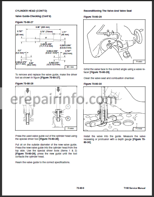 Bobcat T190 Service Repair Manual Compact Track Loader