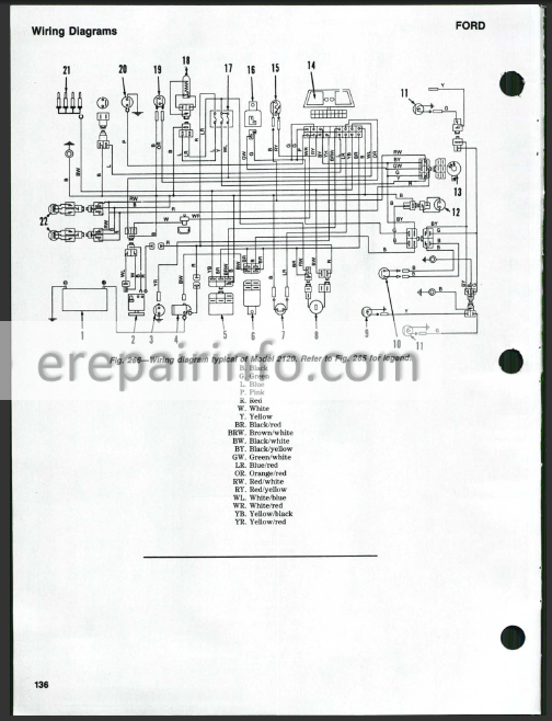 Ford 1720 Tractor Wiring Diagram - Wiring Diagram | Ford New Holland Wiring Diagram |  | Wiring Diagram