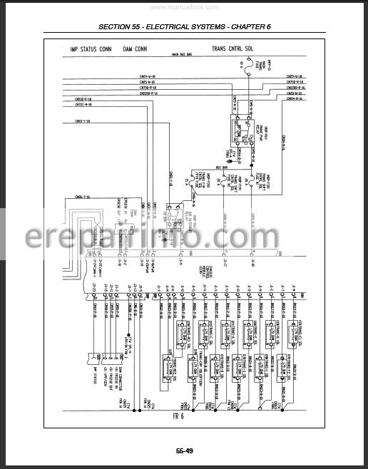 Ford New Holland 8670a 8770a 8870a 8970a Repair Manual