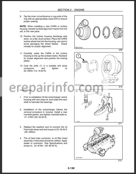 New Holland Ts90 Ts100 Ts110 Repair Manual  U2013 Erepairinfo Com