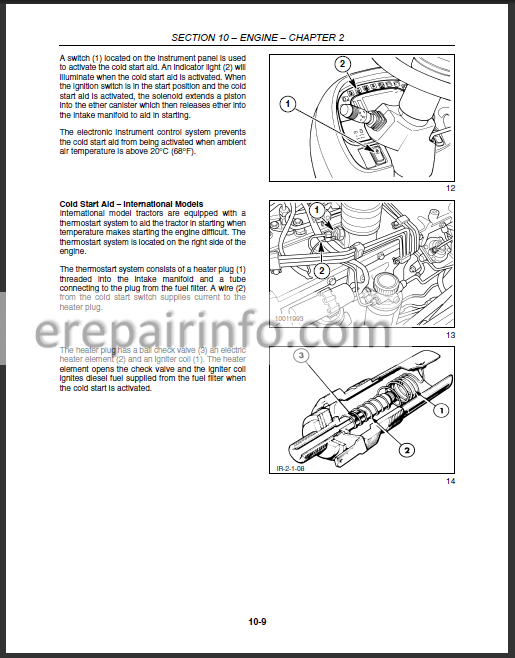 New Holland TV145 Repair Manual