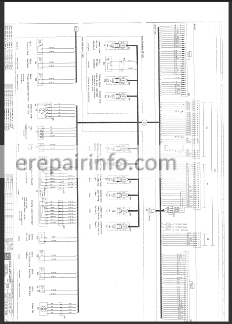 Terex Atlas 1704 1804 Workshop Manual Excavator
