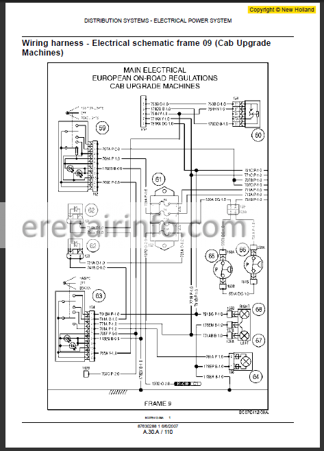 [DIAGRAM_5UK]  New Holland L180 L185 L190 C185 C190 Repair Manual – eRepairInfo.com | New Holland Schematics |  | eRepairInfo.com