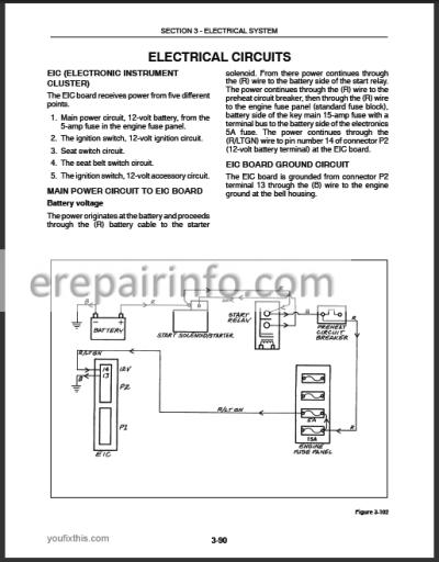New Holland L465 LX465 LX485 Service Manual on