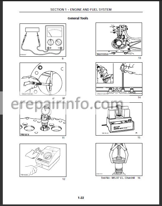 New Holland LM430 LM640 Workshop Manual