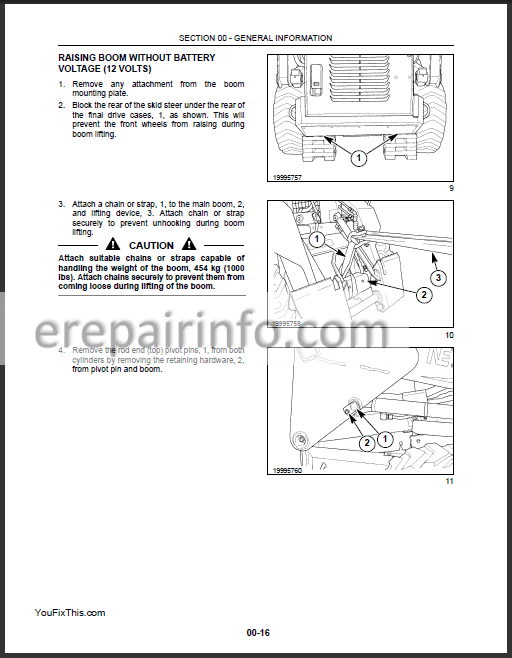 New Holland LS160 LS170 Repair Manual