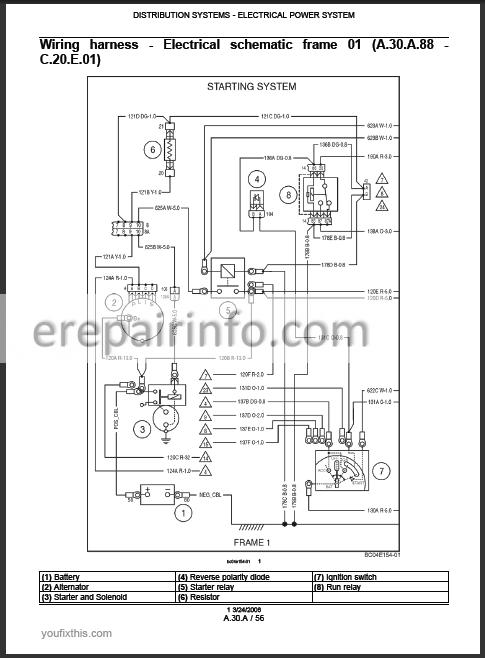 New Holland Ls180 B Ls185 B Ls190 B Worshop Manual