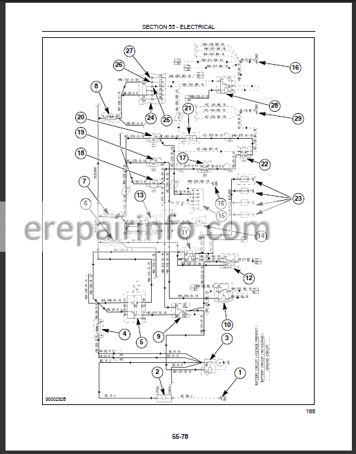 New Holland TC35 TC35 TC40 TC40D TC45 TC45D Service Manual