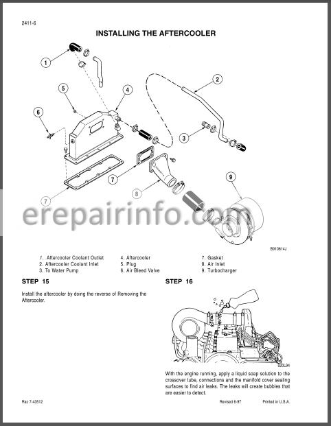 Case 85XT 90XT 95XT Repair Manual