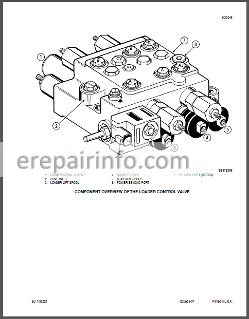 Case 85XT 90XT 95XT Troubleshooting And Schematic Manual