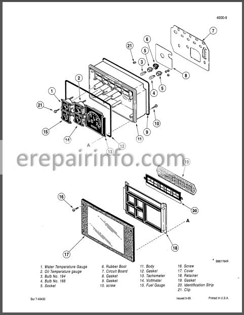 Case 570LXT Service Manual Loader