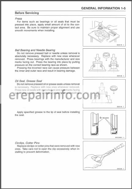 Kawasaki Brute Force 650 4 U00d74 Kvf 650 4 U00d74 Service Manual