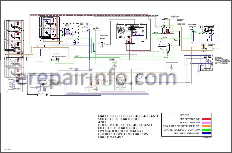 New Holland Tj And T9000 Series Repair Manual