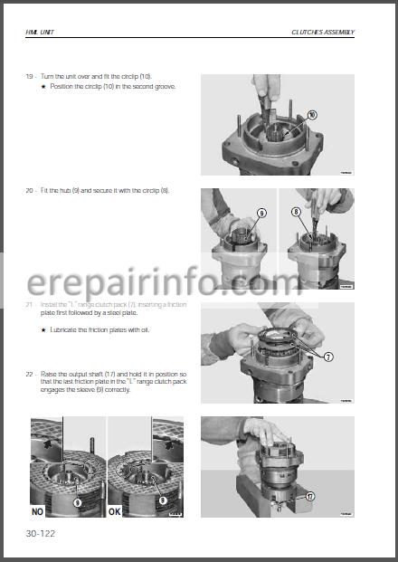 Same Dorado 66 76 86 Power Shuttle Workshop Manual