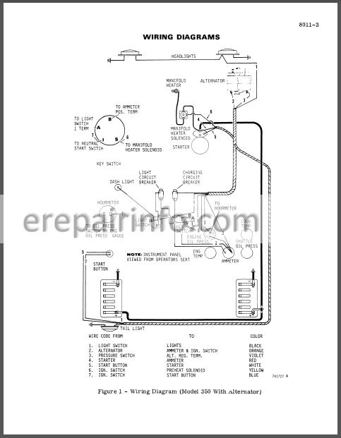 Case 310G 350 Service Manual