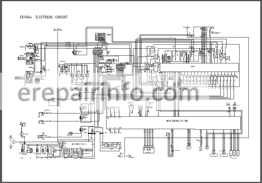 Hitachi EX100-5 EX100M-5 EX110-5 EX110M-5 Workshop Manual