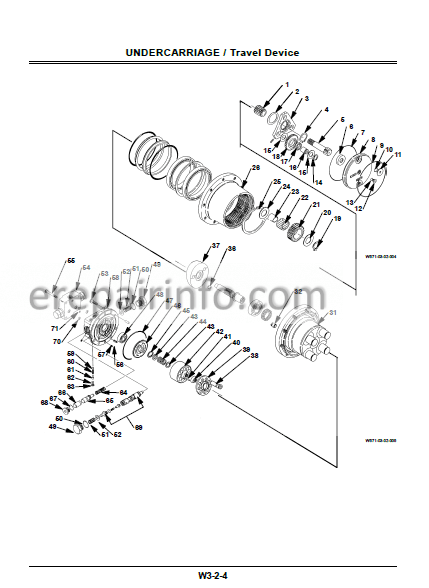Hitachi EX40U EX50U Workshop Manual