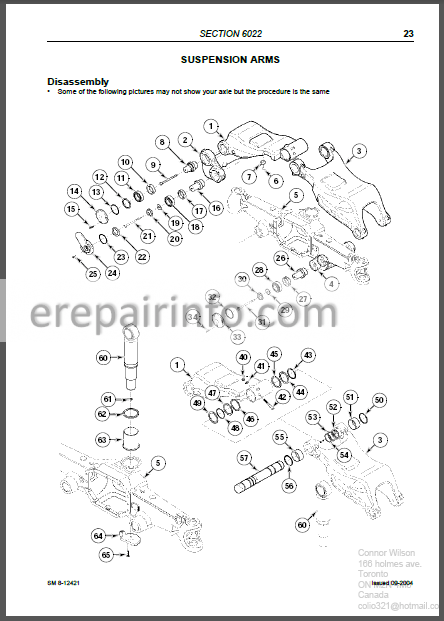 McCormick ZTX230 ZTX260 ZTX280 Repair Manual