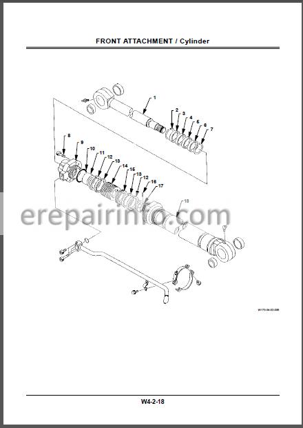 Hitachi EX300-5 EX300LC-5 EX330LC-5 EX350H-5 EX350LCH-5