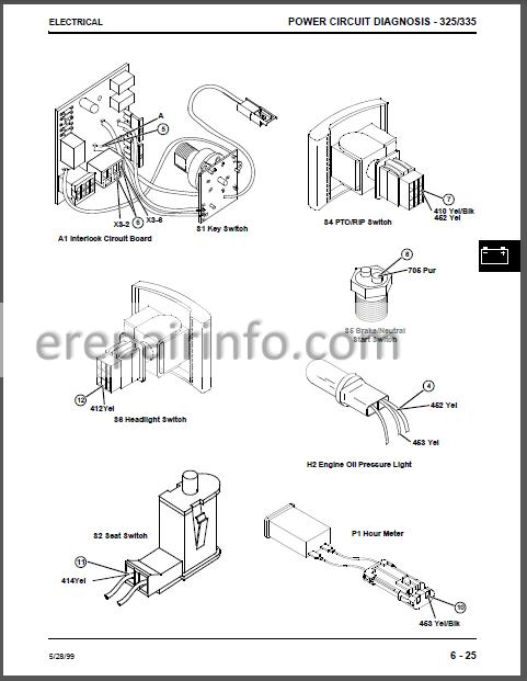 JD 325 335 345 Technical Repair Manual TM1760