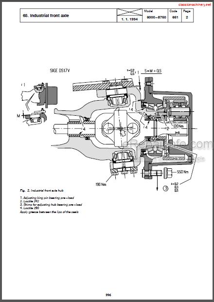 Valtra Valmet 6000 Series 8000 Series Service Manual