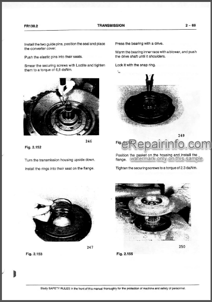 Fiatallis FR130.2 Operation Maintenance And Service Manual