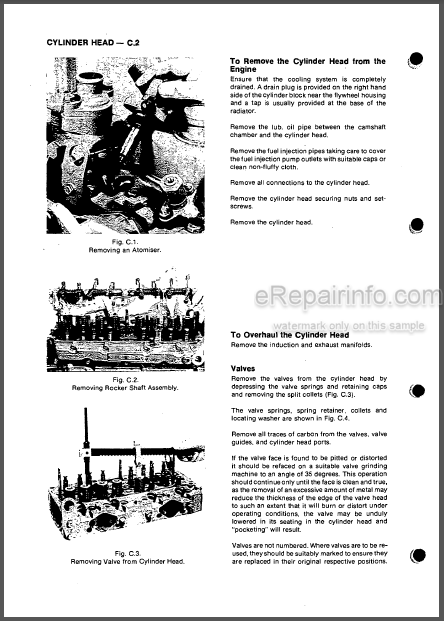 Perkins 4.2032 Workshop Manual Diesel Engine