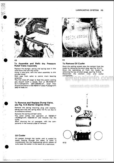 Perkins T6.3543 Workshop Manual Diesel Engine