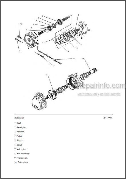 Caterpillar 302.5C Repair Manual Excavator