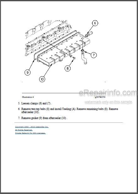 Caterpillar 325 325L Repair Manual Excavator 6KK 8JG 5WK
