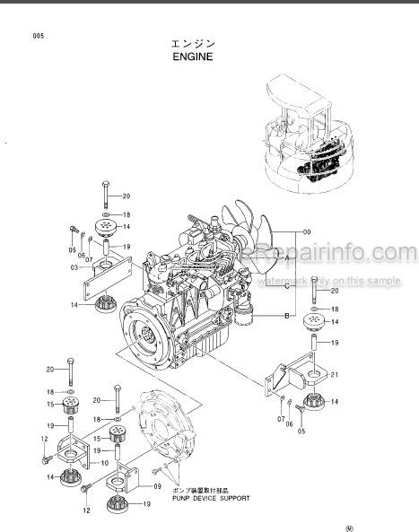Hitachi EX30UR-3 Parts Catalog Excavator