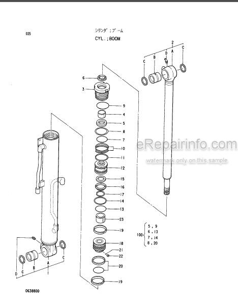 Hitachi EX40UR-2 Parts Catalog Excavator