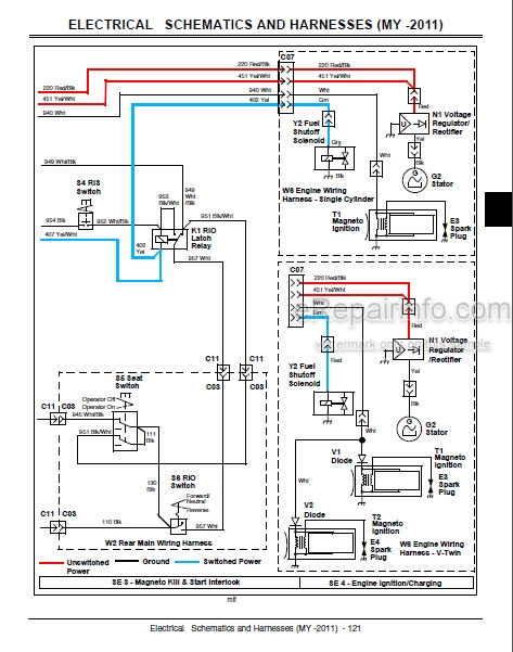free tractor wiring schematics  2005 chevrolet steering