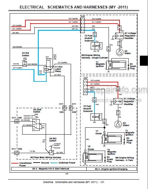 John Deere D100 D110 D120 D130 D140 D150 D160 D170 Repair