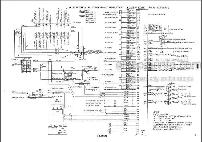 Kobelco SK235SR-1E SK235SRLC-1E SK235SRNLC-1E Parts Manual